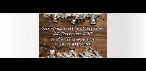 Christmas Opening 2017