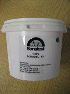 Sonatest - SONAGEL O1 Ultrasonic Couplant (1 Ltr) (ZZZ/0013)