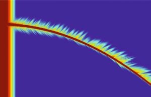 The bent X-Ray created by a curved waveguide