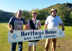 Charlie winning Heritage House Day Care Centre Charity Shoot