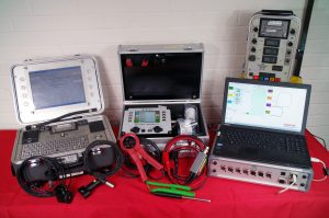 A selection of our in-house designed and built weld monitoring equipment