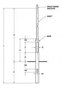 Planted Steel 1 Mtr Diagram